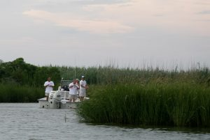 Fishermen in the Louisiana Marsh. (Credit: Jay Ritchie, 2008)